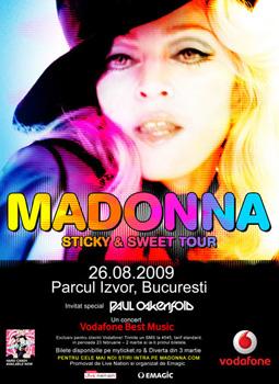Madonna in concert la Bucuresti