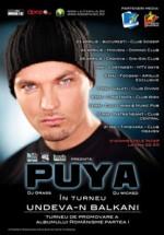 "Concert Puya – turneu ""Undeva-n Balkani"""
