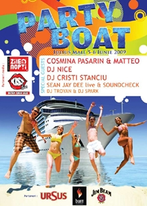 Party Boat in Iulius Mall din Iasi