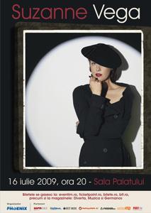 Concert Suzanne Vega la Bucuresti