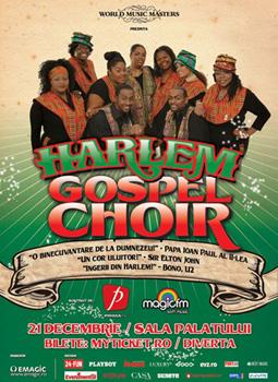 Harlem Gospel Choir la Sala Palatului din Bucuresti