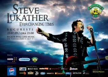 Concert Steve Lukather la Becker Brau Live Music Bucuresti