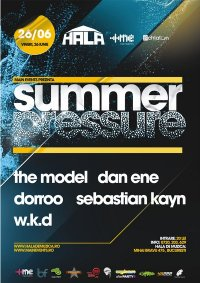 Schlafen & Summer Pressure in Hala de Muzica Bucuresti