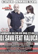 Dj Sava feat. Raluca in Club Amnesia din Radauti
