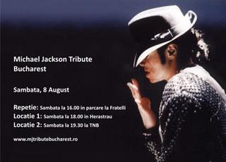 Michael Jackson Tribute Bucharest