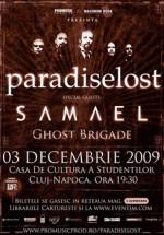Paradise Lost & Samael la Casa de Cultura a Studentilor din Cluj-Napoca – AMANAT