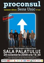 Concert Proconsul la Sala Palatului din Bucuresti