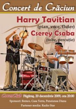 Concert Harry Tavitian in Cover Club din Fagaras