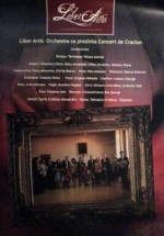 Concert de Craciun la Teatrul Mihai Eminescu din Botosani