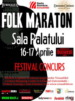 Folk Maraton la Sala Palatului din Bucuresti – ANULAT