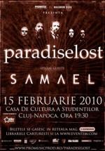 Concert Paradise Lost & Samael la Casa de Cultura a Studentilor din Cluj-Napoca – Anulat