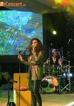 Claudia Pavel a sustinut primul sau concert unplugged (poze si video)