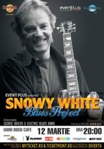 Concert Snowy White in Hard Rock Cafe din Bucuresti