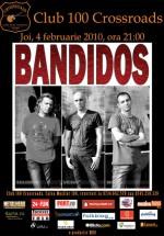 Concert Bandidos în 100 Crossroads din Bucureşti