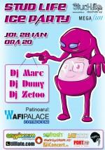 Stud Life Ice Party la Patinoarul Afi Pace Controceni din București