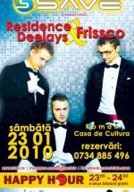 Residence DeeJays & Frissco in Save Club din Roman