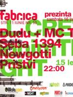 anonimTM in Club Fabrica din Bucuresti