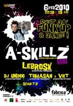 Shut da' Funk up & dance in Club Fabrica din Bucuresti