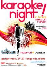 Karaoke în Bubbles Club din Bucureşti