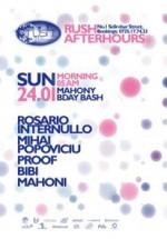 Afterhours party in Rush Club din Bucuresti
