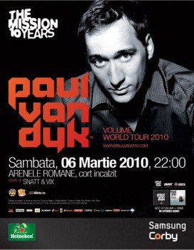 Paul van Dyk la Arenele Romane din Bucuresti