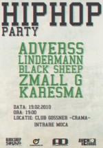 Hip Hop Party în Club Gossner din Campia Turzii
