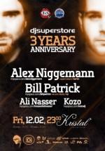 Aniversare 3 ani DjSuperStore în Kristal Glam Club din Bucureşti