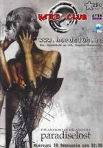 Videoproiecție concert: Paradise Lost în Hard Club din Cluj-Napoca