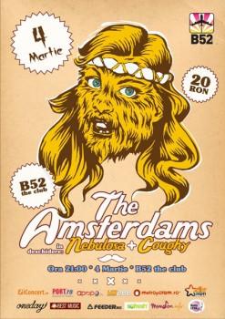 Concert The Amsterdams în Club B52 din Bucureşti