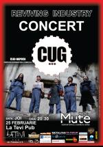 Concert CUG în La Tevi Pub din Cluj-Napoca