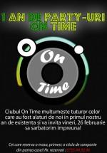 Aniversare Club On Time din Piteşti