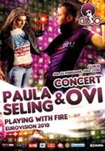Concert Ovi & Paula Seling în Club 30 din Timişoara