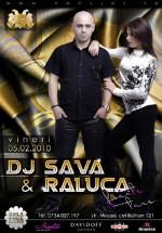 Concert DJ Sava & Raluca în Club Vansses din Constanţa