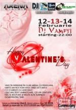 Happy Valentine's Day la Arena Club din Caransebeş