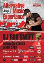 DJ Rob Swift în Studio Martin din Bucureşti