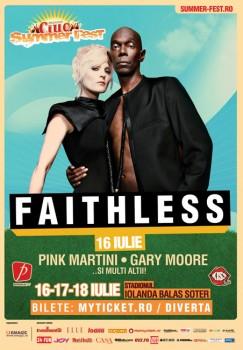 Concert Faithless la Bucureşti