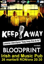 Concert Blood Print & Keep Away în Irish & Music Pub din Cluj-Napoca