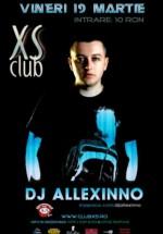 DJ Allexinno în Club XS din Rovinari