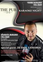 Emil Lassaria în The Pub din Alexandria
