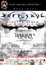Lansare album Krepuskul în Club Suburbia din Bucureşti
