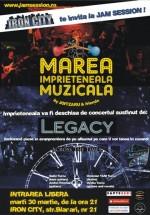 Marea împrieteneală muzicală la Iron City din Bucureşti
