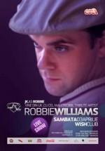 JK as Robbie Williams în Club Wish din Constanţa