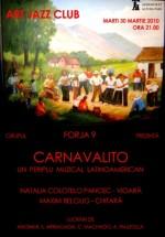 Concert Carnavalito la Art Jazz Club din Bucureşti