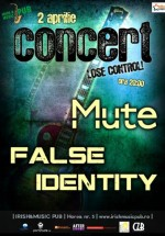 Concert Mute & False Identity în Irish & Music Pub din Cluj-Napoca