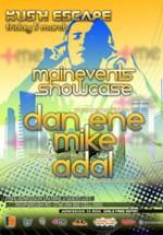 Dan Ene, Mike & Adal în Club Kush din Iaşi