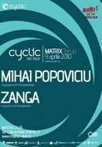 Mihai Popoviciu & Zanga în Club Matrix din Tecuci