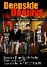 Deepside Deejays în Club Tonka din Bucureşti