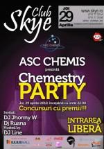 Chemestry Party în Club Skye din Iaşi