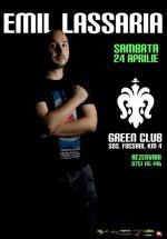 Emil Lassaria în Green Club din Brăila