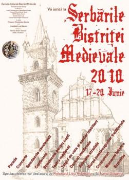 Serbările Bistriţei Medievale 2010